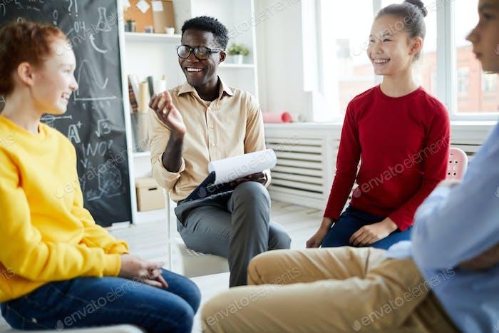 Lachen im Unterricht