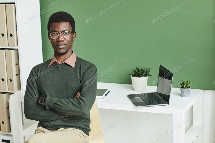 Businessman at office