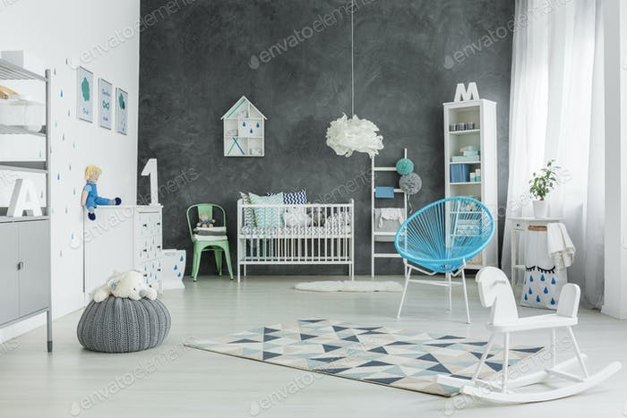 Big room for a child