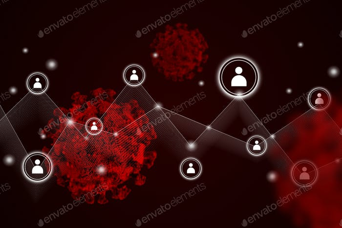 Coronavirus se extiende por todo el mundo de fondo