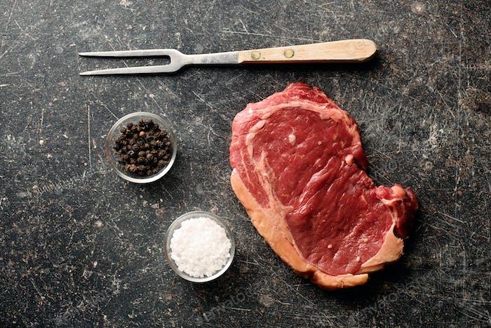 frisches rohes Rindfleisch