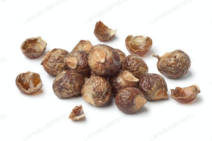 Nussschalen von Seifennüssen
