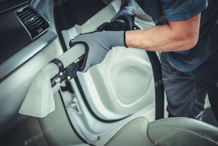 Wet Dry Car Interior Vacuuming