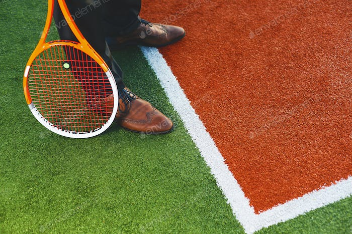 Concept business is like big sport