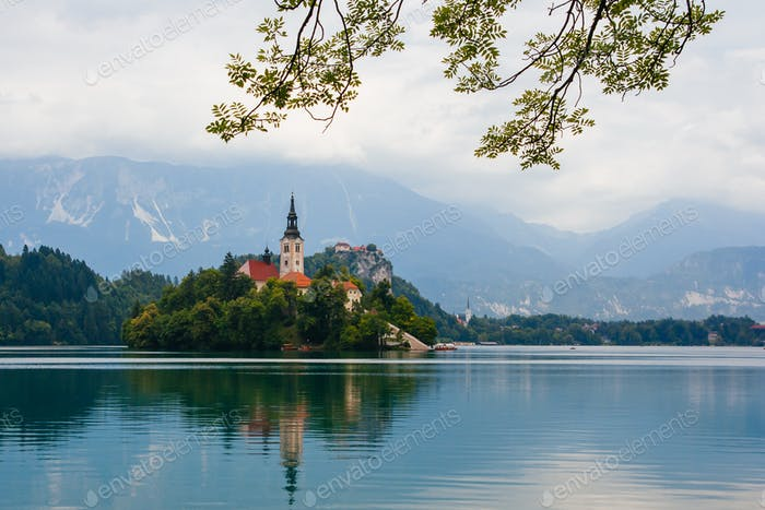 Stunning Lake Bled in Slovenia