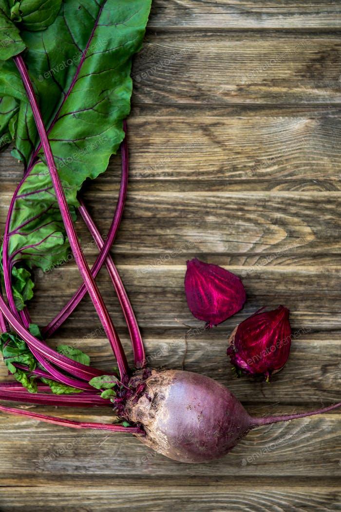 Frisch gepflücktes Gemüse