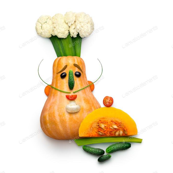 Gemüsekoch.