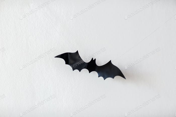 Halloween Dekoration von Fledermaus hängen an Saiten