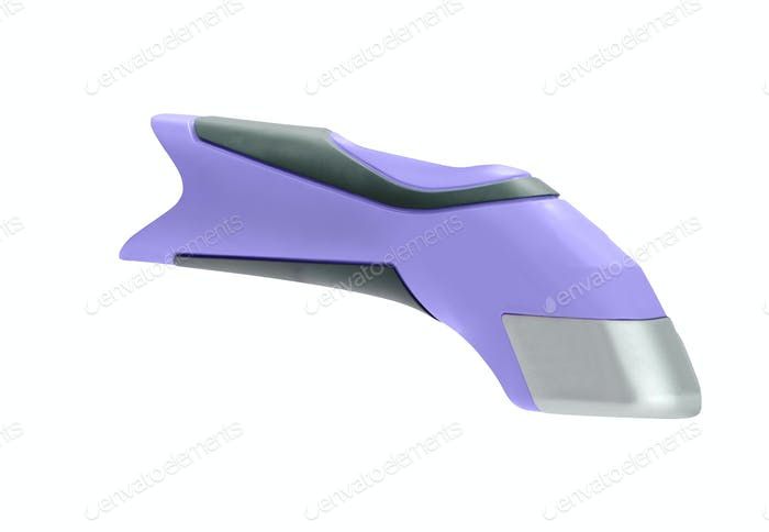 Electric razor on a white background