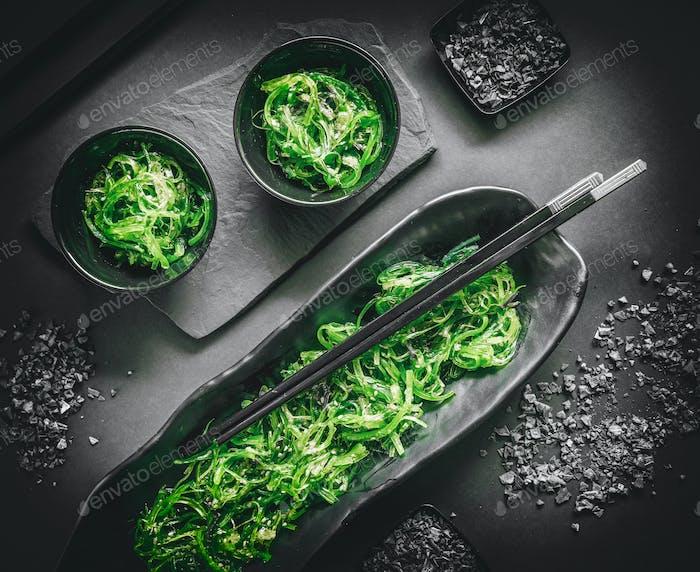 Healthy seaweed salad
