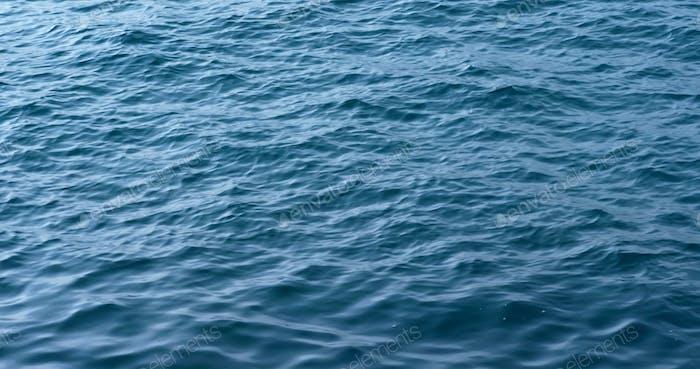 Seascape surface wave