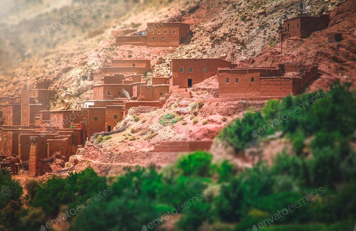 Village in the Atlas mountains