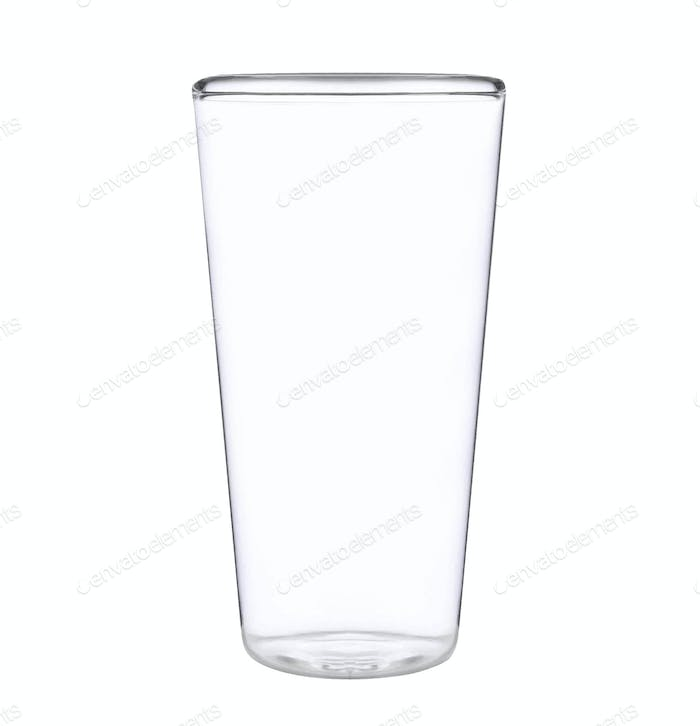 Glass isolated on white