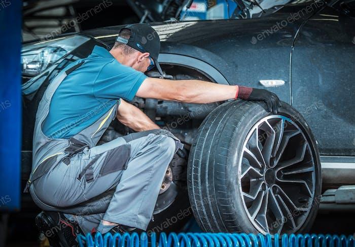 Modern Car Brakes Check