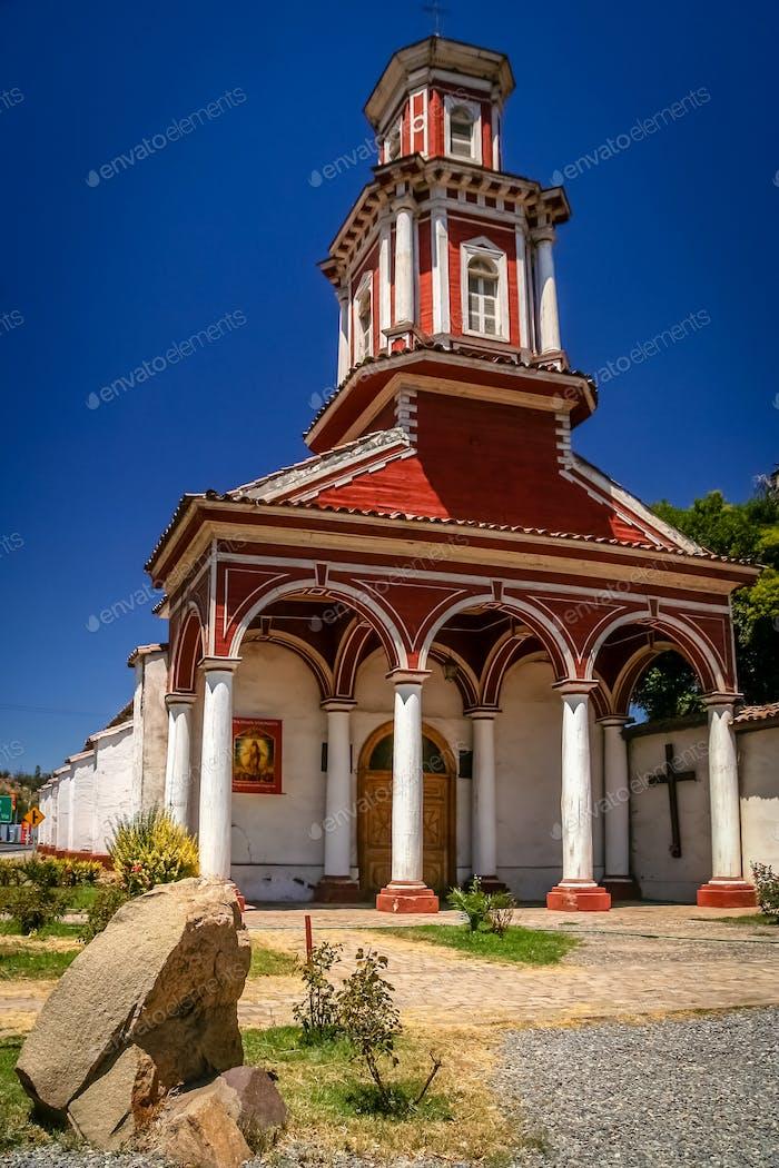 Small church in Chile