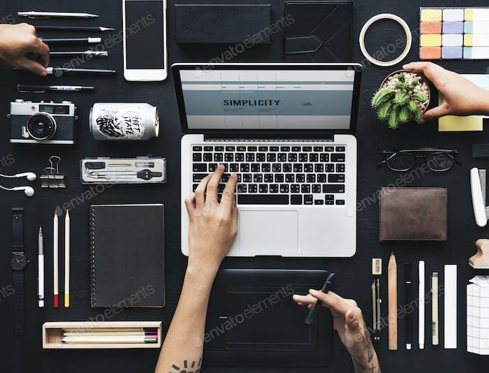 Digital graphic designers