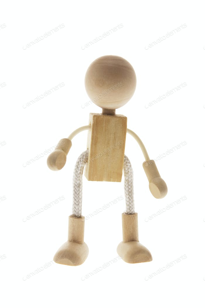 Wooden Child Figure