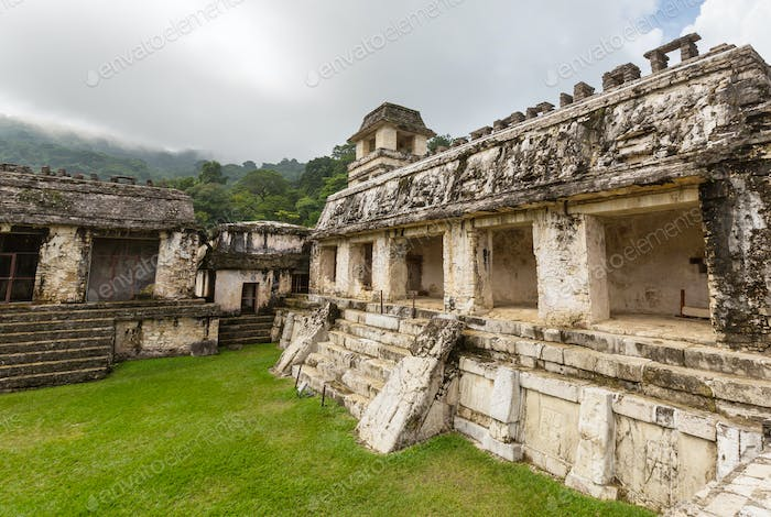 Ruins in Mexico