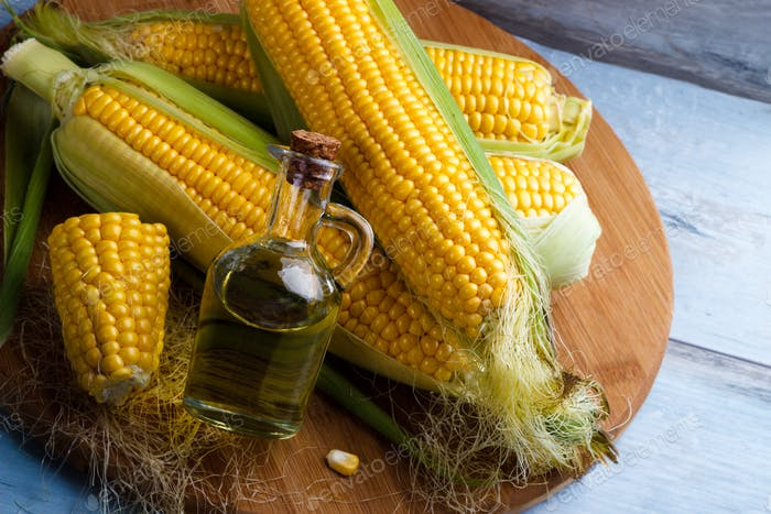 Fresh corn oil
