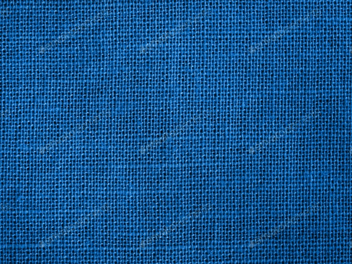 Blue cotton fabric as color of 2020 background