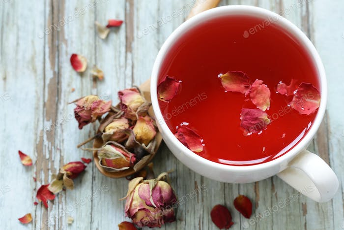 Red Flower Tea