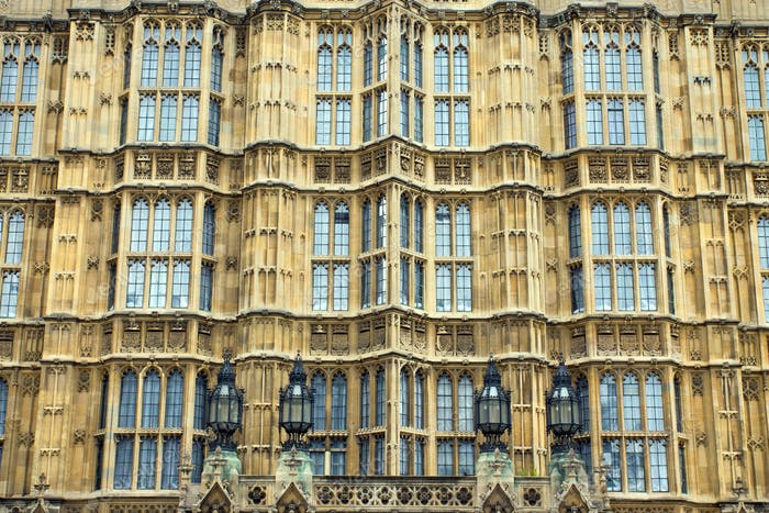 Facade of the Houses of Parliament