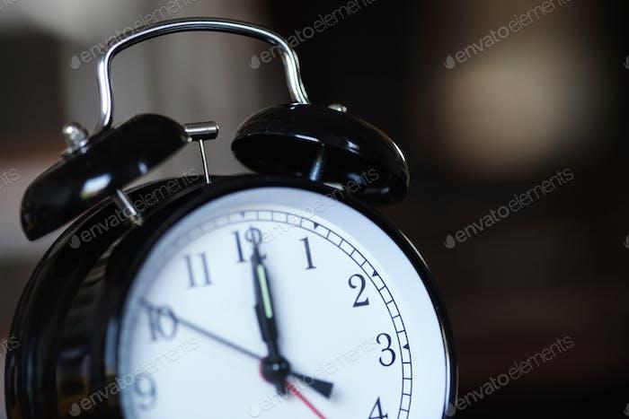 Nahaufnahme der Uhr