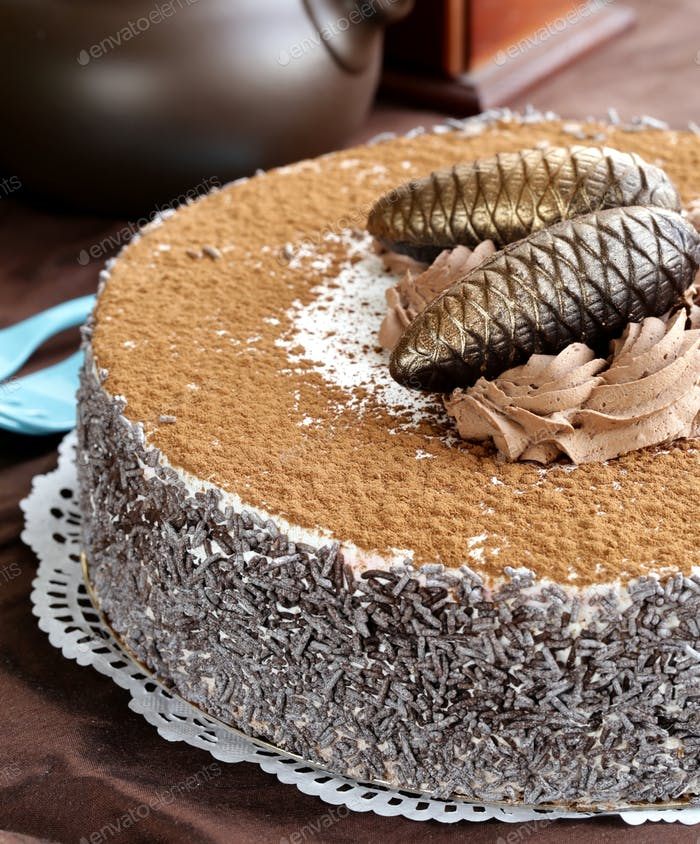 Gourmet-Schokoladenkuchen