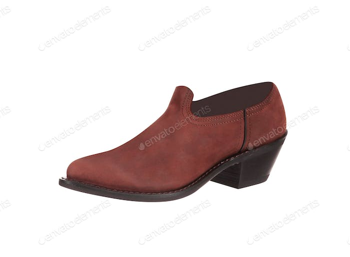 Male fashion shoe on white