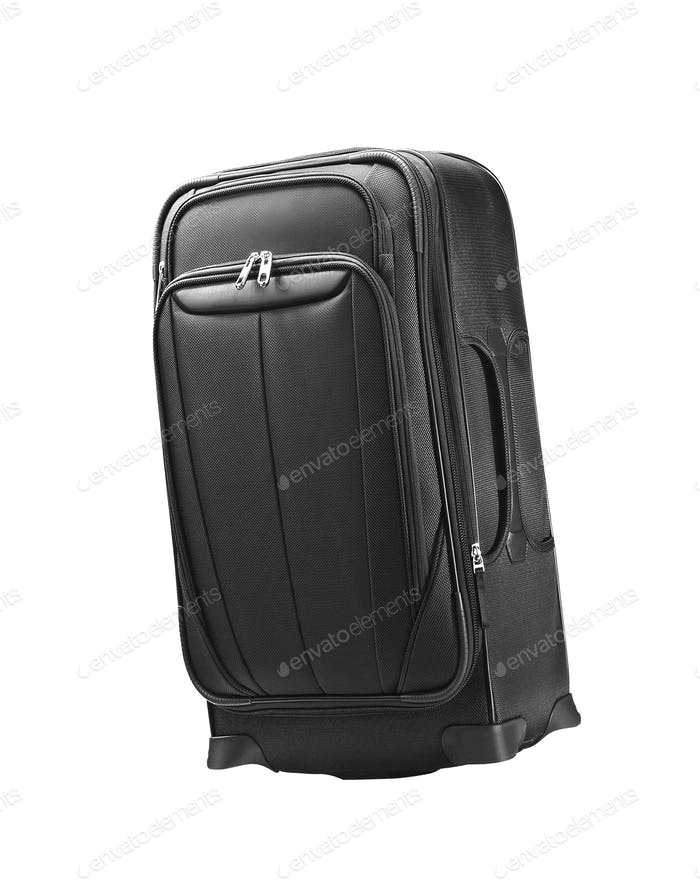 Traveling bag isolated on white background