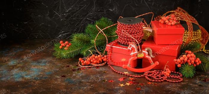 Christmas Holiday Background.