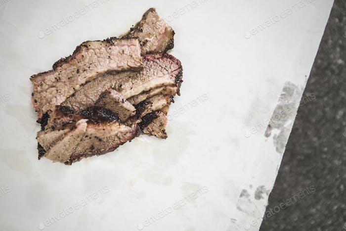Brisket on Butcher Paper