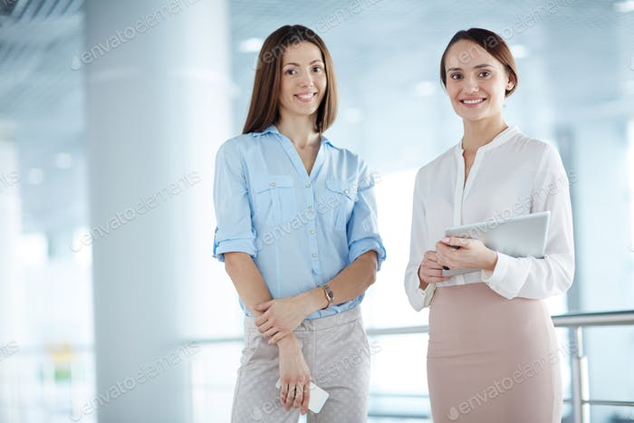 Women at office
