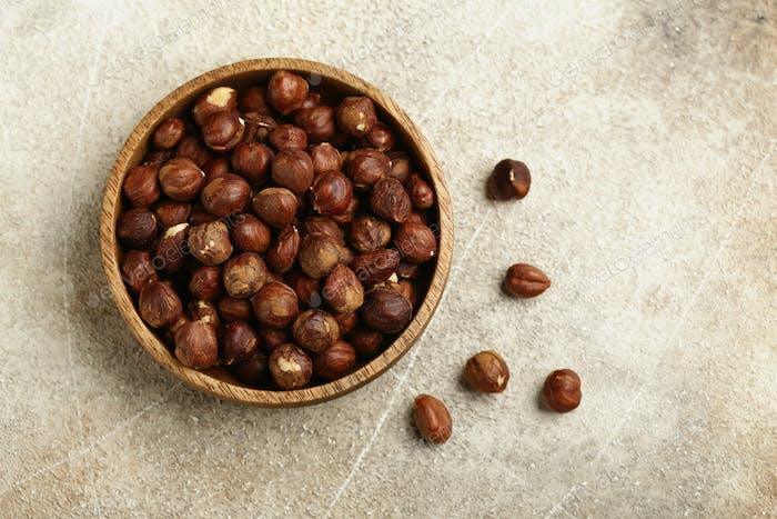Organic Hazelnuts Nuts