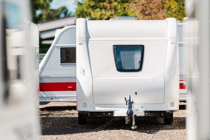 RV Travel Trailer Storage