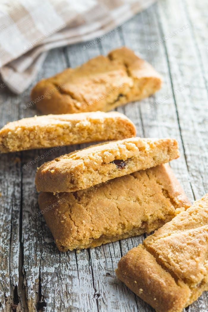 The sweet cookies.