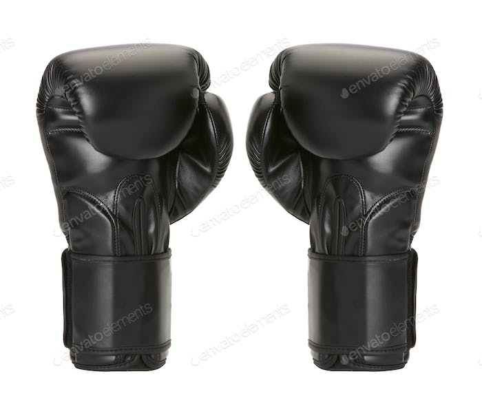 par boxing gloves on a white background.