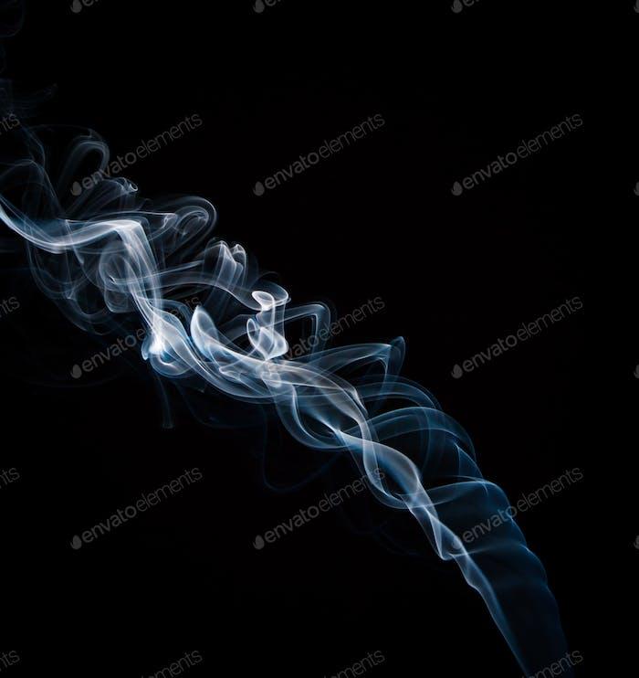 Delicate Blue smoke