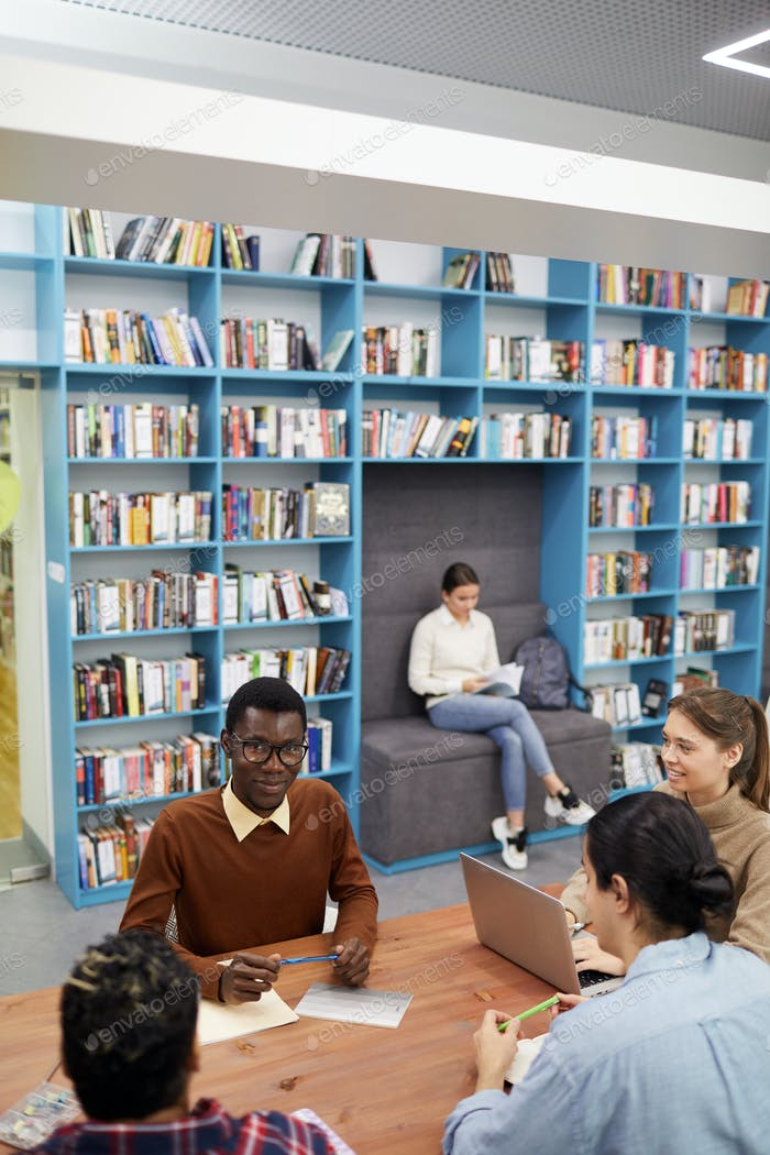 Modern College Library