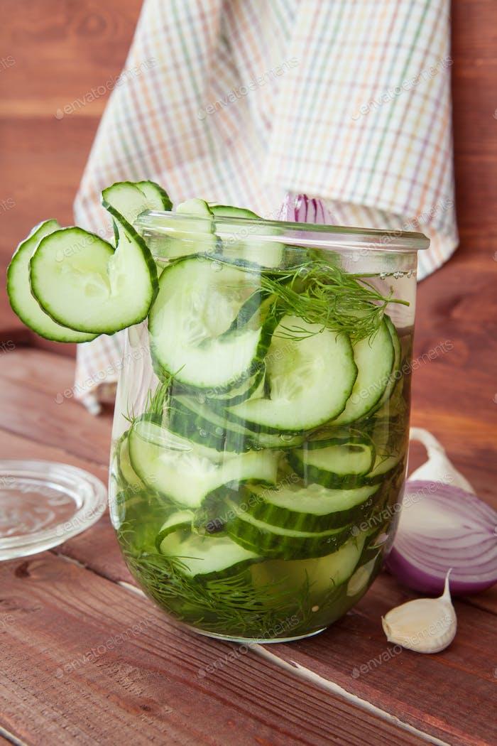 Homemade pickles