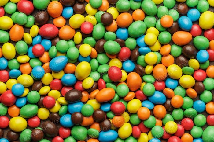 Bunte Süßigkeiten Hintergrund