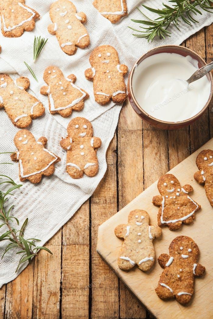 Смешно домашнее сахарное печенье