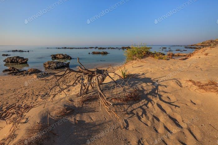 Elafonisi  beach. Crete, Greece
