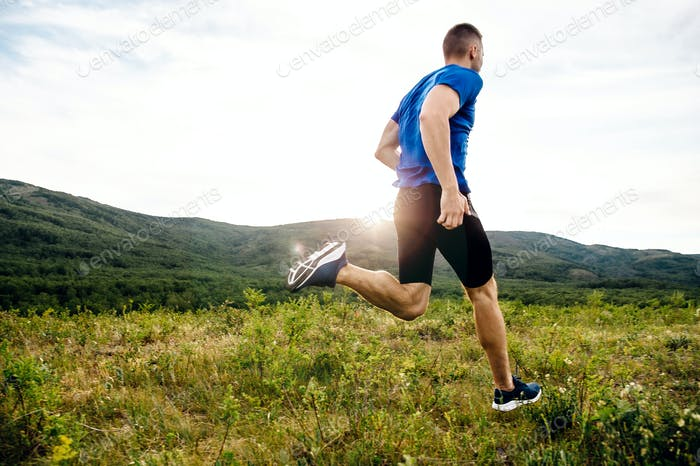 athlete runner running