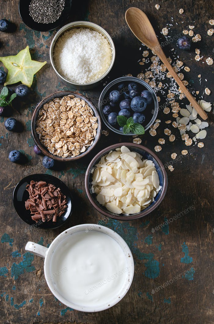 Yogurt smoothie bowl