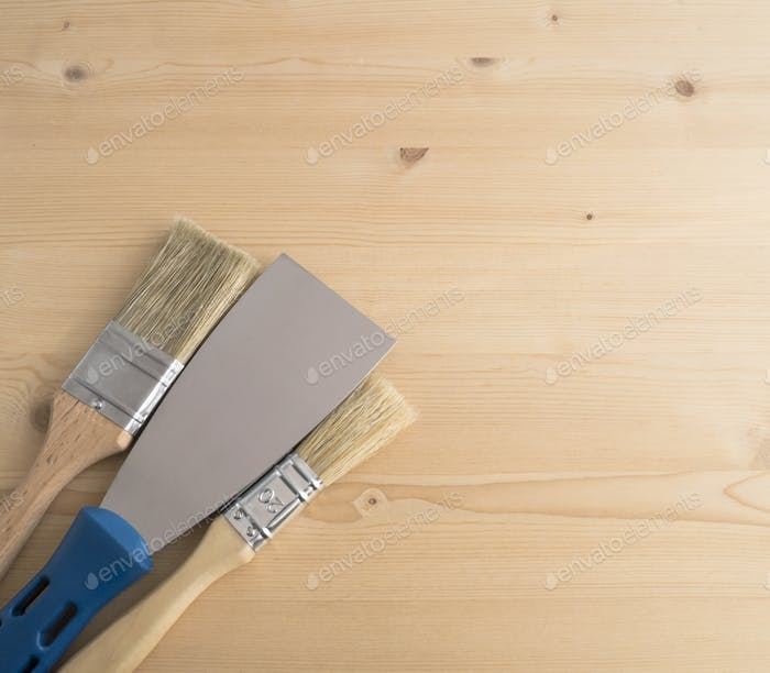 Metal spatula, trowel
