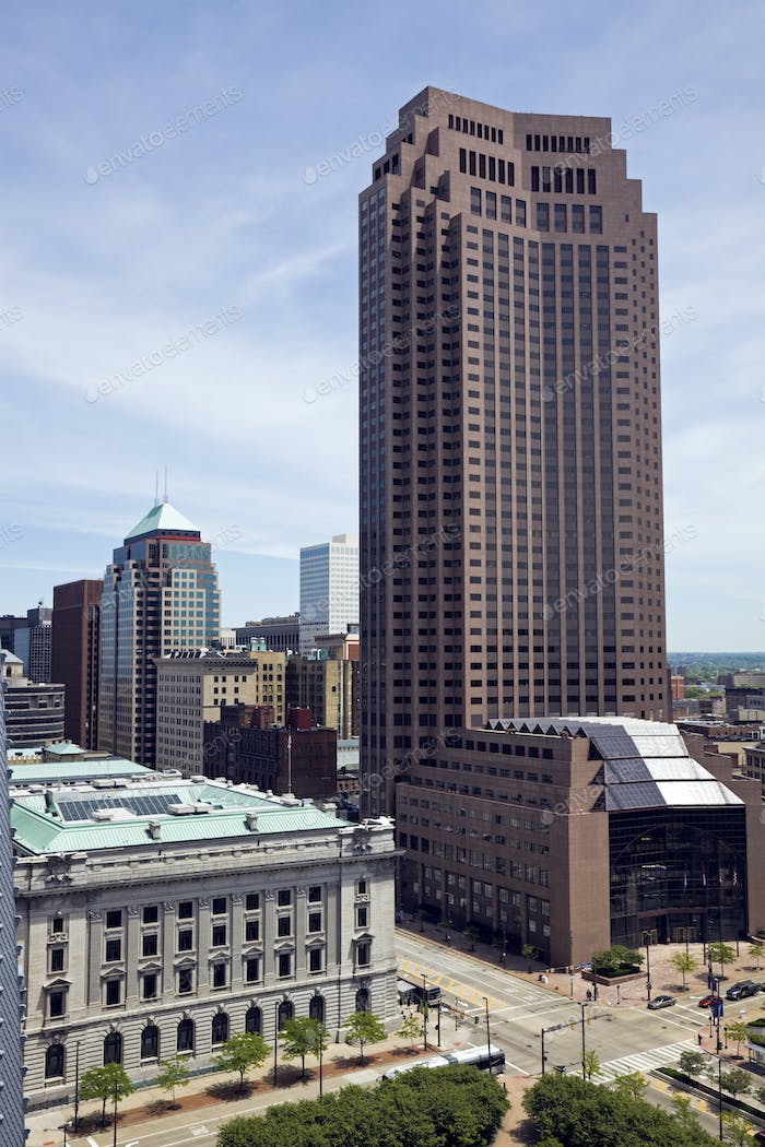Cleveland, Ohio - architecture of downtown