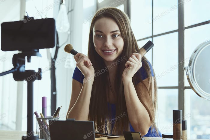 Girl Blogger