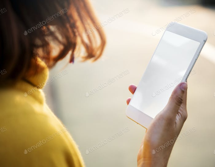 Watching Texting Using Phone Technology