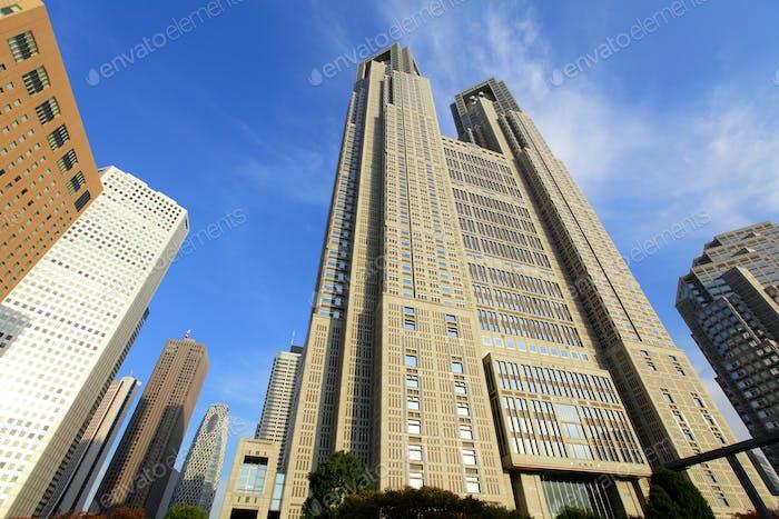 Корпоративное здание в Токио